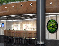 Indoor greenery for IQ business centre