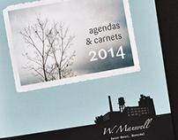 Catalogue des agendas 2014 W.Maxwell