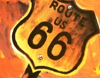 Painting | Route 66