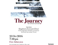 The Journey Concert Poster