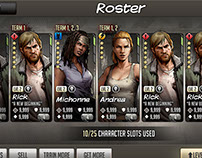 The Walking Dead: Road to Survival - UI Design