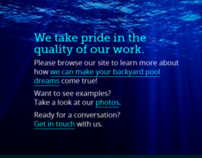 Clean Clear Pool Service - Website Redesign