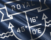 Royal - Yacht Charter Branding