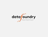 Data Foundry - Web + UX/UI Design
