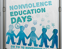Nonviolence Education Days Poster