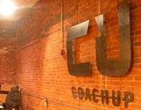 Coachup Steel Lobby Sign