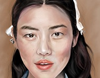 Digital Painting . Liu Wen