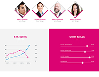 Bigdream One Page Business Psd Template