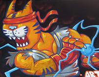 Street Fighter Graffiti