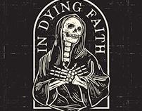 in dying faith