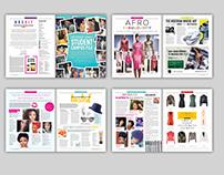 BristishAfrikana Magazine redesign