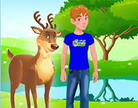 Animated Gifs for Children's Profile Pages