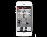 Mobile Online Shopping App UI/UX Design