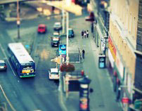 Viajes en Tilt Shift