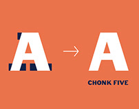 Font redesign - Chonk Five