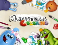 MonstersColoring Application