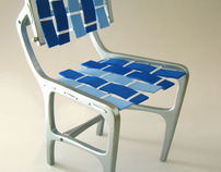 LOOM - cast aluminum RTA chair