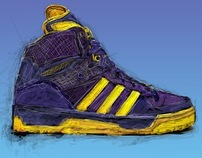 Project Sneaker Sketch Colors / Adidas