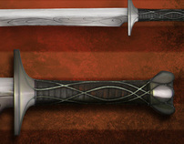 Weapon Design / Concept Art // BloodRayne 2010 Movie