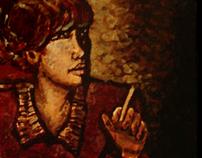 Nail Polish Paintings