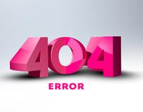 ERROR 404 TEMPLATE