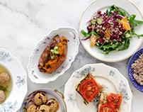 Jewish Food Hero Brand Identity + Website Design