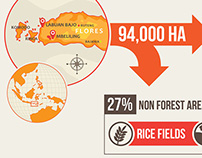 Infographic Mbeliling : Towards Productive Landscape