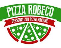Logo Design - Pizza Robeco Amsterdam