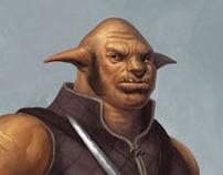 Ogre warrior - commission