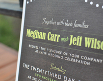 Wedding Invitation + Save the Date