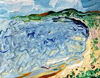 """"""" A Calm Little Seascape """""""
