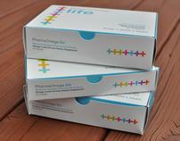 Omega 3 Supplement Branding + Package Design