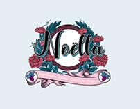 《Noëlla》白葡萄酒品牌设计