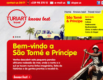 Turiart Travel Website