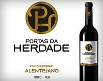 Portas da Herdade Wine: Rebranding