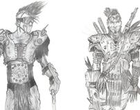 Post Apocalyptic Warriors