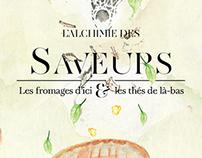 L'alchimie des saveurs  - Fromages et Thés