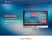Web Design For hartaku.com