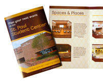 St. Paul Student Center Brochure