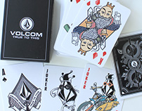 Volcom Playing Card