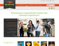 Pronto Retail - UI/UX Design & Development in WordPress