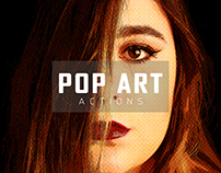 POP ART PHOTOSHOP ACTION AVAILABLE FOR DOWNLOAD