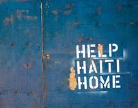 J/P HRO Help Haiti Home (Campaign Concept)