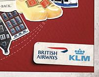 British Airways & KLM | LizTrix