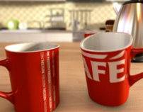 Red Mug Promotion of Nescafé 3in1