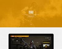 PUBG UI re-design