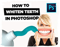 How to Whiten Teeth in Photoshop | TUTORIAL