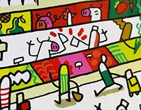 City market Mural