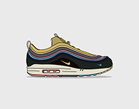 Sneaker Illustration Series: SW Air Max 97