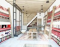 Interior Design Consultancy for Kruja Bazaar Shops